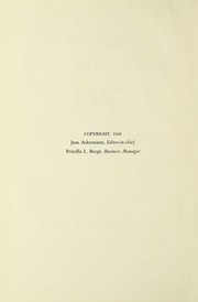 Page 10, 1941 Edition, Barnard College - Mortarboard Yearbook (New York, NY) online yearbook collection