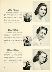 Page 101, 1942 Edition, Barnard College - Mortarboard Yearbook (New York, NY) online yearbook collection
