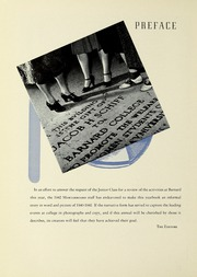 Page 12, 1942 Edition, Barnard College - Mortarboard Yearbook (New York, NY) online yearbook collection