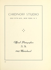 Page 191, 1942 Edition, Barnard College - Mortarboard Yearbook (New York, NY) online yearbook collection