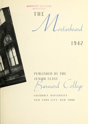 Page 7, 1942 Edition, Barnard College - Mortarboard Yearbook (New York, NY) online yearbook collection