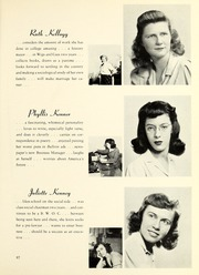 Page 91, 1942 Edition, Barnard College - Mortarboard Yearbook (New York, NY) online yearbook collection