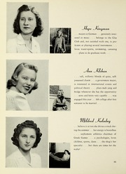 Page 92, 1942 Edition, Barnard College - Mortarboard Yearbook (New York, NY) online yearbook collection