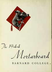 Page 6, 1944 Edition, Barnard College - Mortarboard Yearbook (New York, NY) online yearbook collection