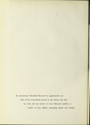 Page 8, 1944 Edition, Barnard College - Mortarboard Yearbook (New York, NY) online yearbook collection
