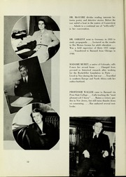 Page 16, 1945 Edition, Barnard College - Mortarboard Yearbook (New York, NY) online yearbook collection