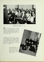 Page 15, 1948 Edition, Barnard College - Mortarboard Yearbook (New York, NY) online yearbook collection