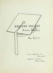 Page 5, 1948 Edition, Barnard College - Mortarboard Yearbook (New York, NY) online yearbook collection