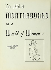 Page 6, 1948 Edition, Barnard College - Mortarboard Yearbook (New York, NY) online yearbook collection