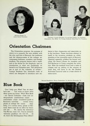 Page 13, 1953 Edition, Barnard College - Mortarboard Yearbook (New York, NY) online yearbook collection