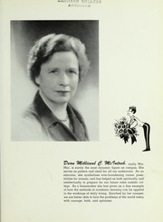 Page 7, 1953 Edition, Barnard College - Mortarboard Yearbook (New York, NY) online yearbook collection