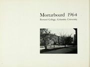 Page 10, 1964 Edition, Barnard College - Mortarboard Yearbook (New York, NY) online yearbook collection