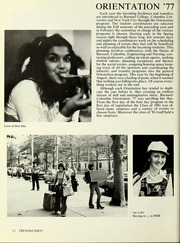 Page 16, 1978 Edition, Barnard College - Mortarboard Yearbook (New York, NY) online yearbook collection