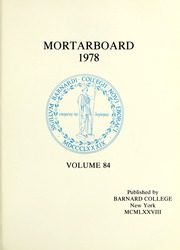 Page 5, 1978 Edition, Barnard College - Mortarboard Yearbook (New York, NY) online yearbook collection