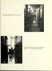 Page 71, 1981 Edition, Barnard College - Mortarboard Yearbook (New York, NY) online yearbook collection
