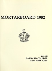 Page 5, 1982 Edition, Barnard College - Mortarboard Yearbook (New York, NY) online yearbook collection