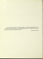 Page 6, 1982 Edition, Barnard College - Mortarboard Yearbook (New York, NY) online yearbook collection