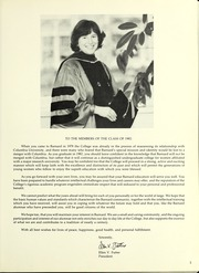 Page 7, 1982 Edition, Barnard College - Mortarboard Yearbook (New York, NY) online yearbook collection
