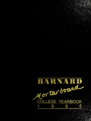 Page 1, 1986 Edition, Barnard College - Mortarboard Yearbook (New York, NY) online yearbook collection