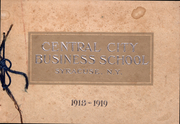 1919 Edition, Central City Business School - Yearbook (Syracuse, NY)