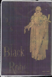 1956 Edition, Le Moyne College - Black Robe Yearbook (Syracuse, NY)