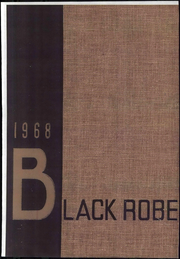 1968 Edition, Le Moyne College - Black Robe Yearbook (Syracuse, NY)