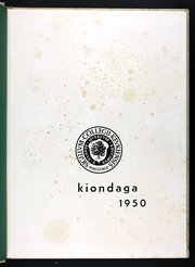 Page 5, 1950 Edition, Keuka College - Keuka Yearbook (Keuka Park, NY) online yearbook collection