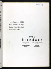 Page 7, 1950 Edition, Keuka College - Keuka Yearbook (Keuka Park, NY) online yearbook collection