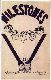 1944 Edition, Niles Junior High School - Milestones Yearbook (Bronx, NY)
