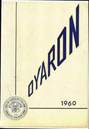 1960 Edition, Hartwick College - Oyaron Yearbook (Oneonta, NY)