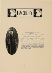 Page 11, 1916 Edition, University of Rochester College for Women - Croceus Yearbook (Rochester, NY) online yearbook collection