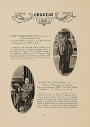 Page 13, 1916 Edition, University of Rochester College for Women - Croceus Yearbook (Rochester, NY) online yearbook collection