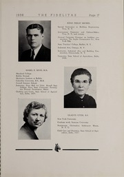 Page 19, 1938 Edition, SUNY at Delhi - Fidelitas Yearbook (Delhi, NY) online yearbook collection