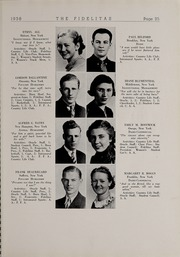 Page 27, 1938 Edition, SUNY at Delhi - Fidelitas Yearbook (Delhi, NY) online yearbook collection