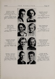 Page 29, 1938 Edition, SUNY at Delhi - Fidelitas Yearbook (Delhi, NY) online yearbook collection