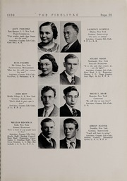 Page 31, 1938 Edition, SUNY at Delhi - Fidelitas Yearbook (Delhi, NY) online yearbook collection