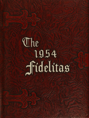 1954 Edition, SUNY at Delhi - Fidelitas Yearbook (Delhi, NY)