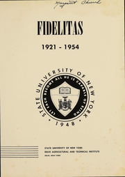 Page 4, 1954 Edition, SUNY at Delhi - Fidelitas Yearbook (Delhi, NY) online yearbook collection
