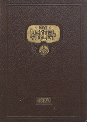Page 1, 1926 Edition, New York University College of Dentistry - Dental Violet Yearbook (New York, NY) online yearbook collection