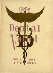 Page 3, 1926 Edition, New York University College of Dentistry - Dental Violet Yearbook (New York, NY) online yearbook collection