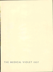 Page 7, 1937 Edition, New York University School of Medicine - Medical Yearbook (New York, NY) online yearbook collection