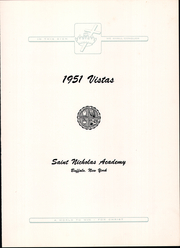 Page 11, 1951 Edition, St Nicholas Academy - Vistas Yearbook (Buffalo, NY) online yearbook collection