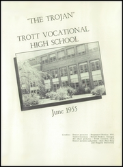 Page 5, 1955 Edition, Trott Vocational High School - Trottarian Yearbook (Niagara Falls, NY) online yearbook collection