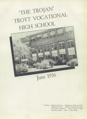Page 5, 1956 Edition, Trott Vocational High School - Trottarian Yearbook (Niagara Falls, NY) online yearbook collection