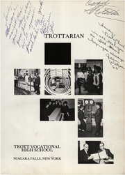 Page 5, 1966 Edition, Trott Vocational High School - Trottarian Yearbook (Niagara Falls, NY) online yearbook collection