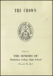 Page 5, 1946 Edition, Manhattan College High School - Prep Yearbook (New York, NY) online yearbook collection
