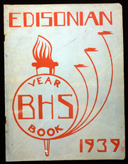 1939 Edition, Boys High School - Edisonian Yearbook (Buffalo, NY)