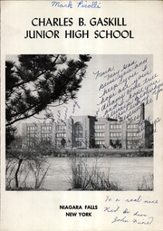 Page 3, 1962 Edition, Charles B Gaskill Middle School - Yearbook (Niagara Falls, NY) online yearbook collection