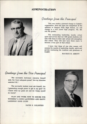 Page 9, 1962 Edition, Charles B Gaskill Middle School - Yearbook (Niagara Falls, NY) online yearbook collection