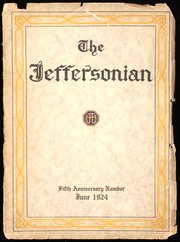 1924 Edition, Jefferson Junior High School - Jeffersonian Yearbook (Rochester, NY)